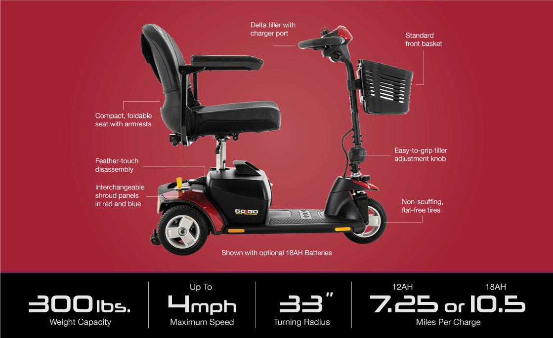 go-go elite traveller 3-wheel specifications image