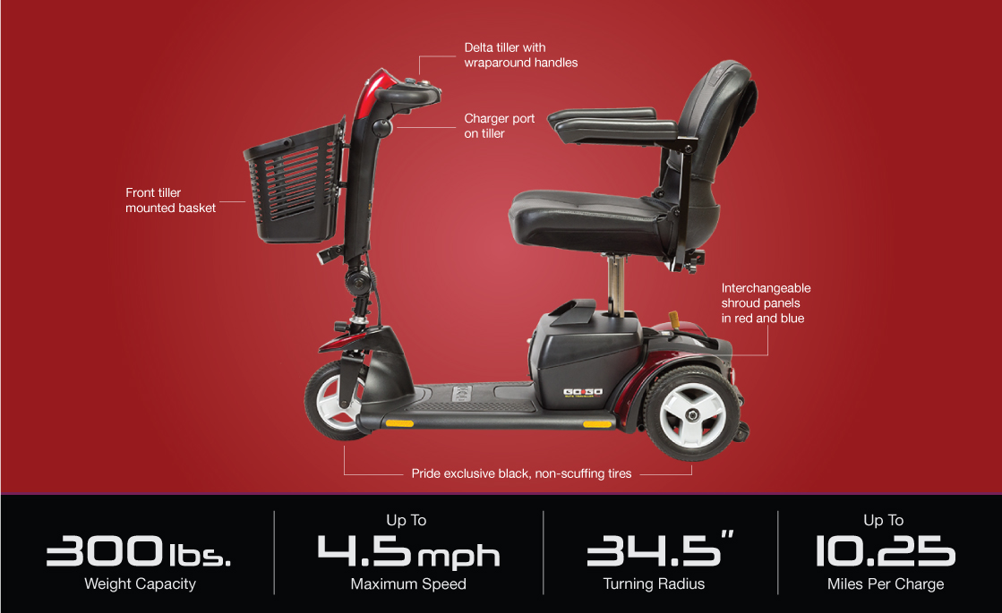 image of go-go elite traveller plus 3-wheel specifications image