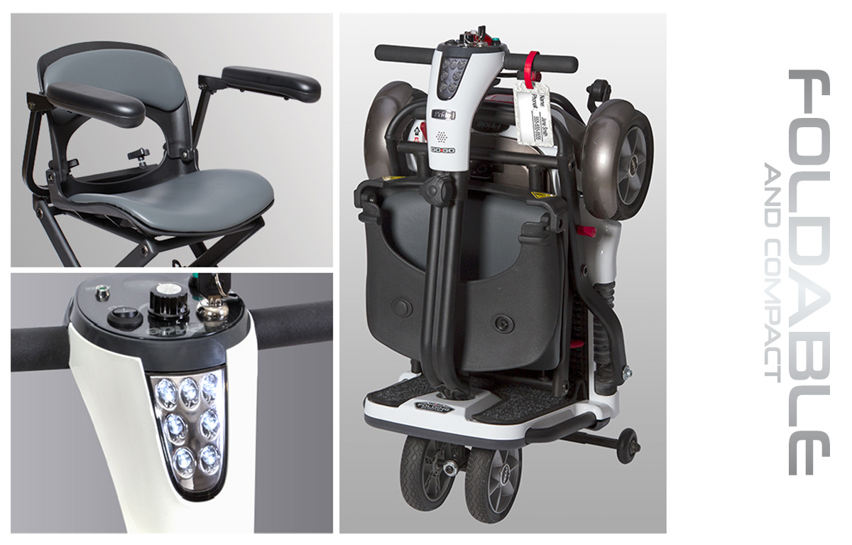 image of go-go folding scooter 4-wheel features image