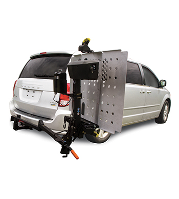 wheelchair scooter lifts for many vehicles pride mobility® swing away adaptor lift accessory