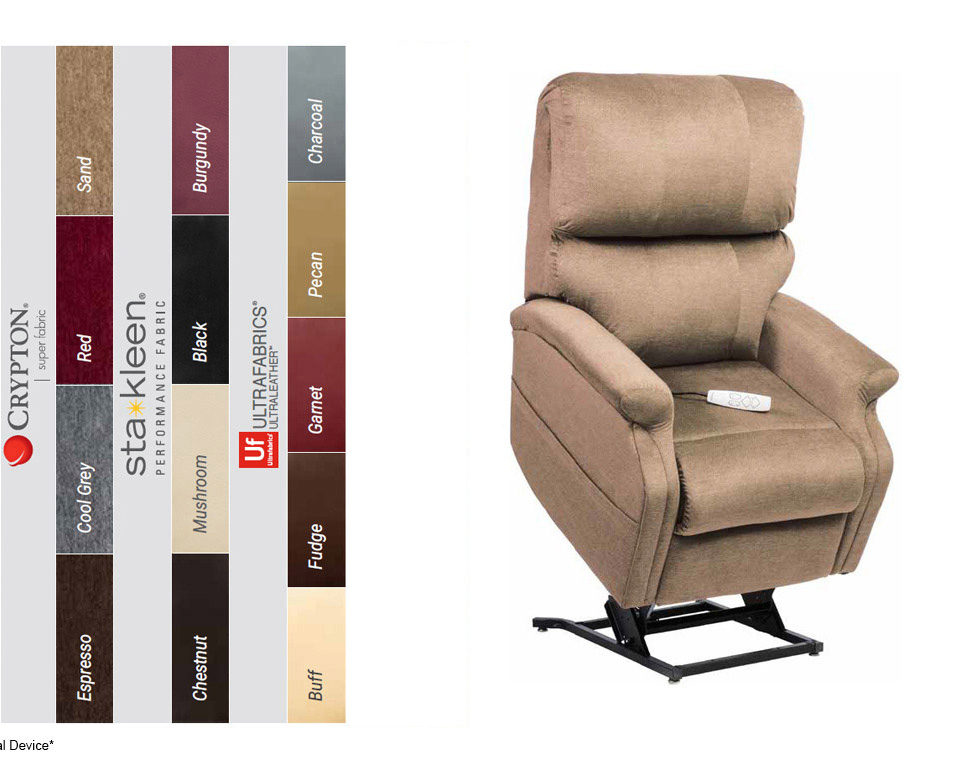 infinity lc 525 power lift recliner colors