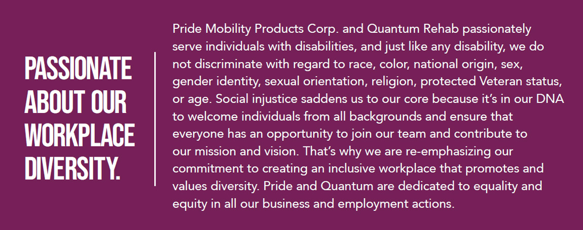 passionate about our workplace diversity
