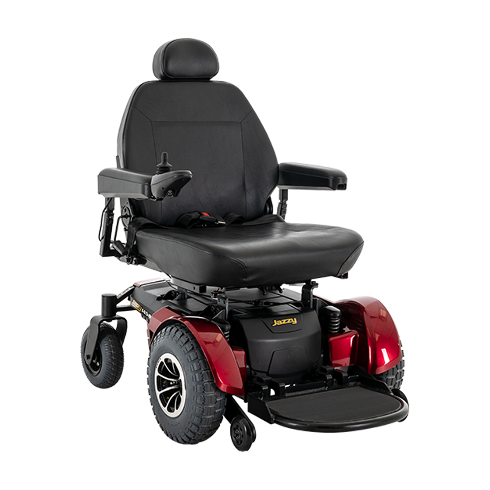 Jazzy® 1450 Power Wheelchair::Jazzy® Power Chairs|Pride