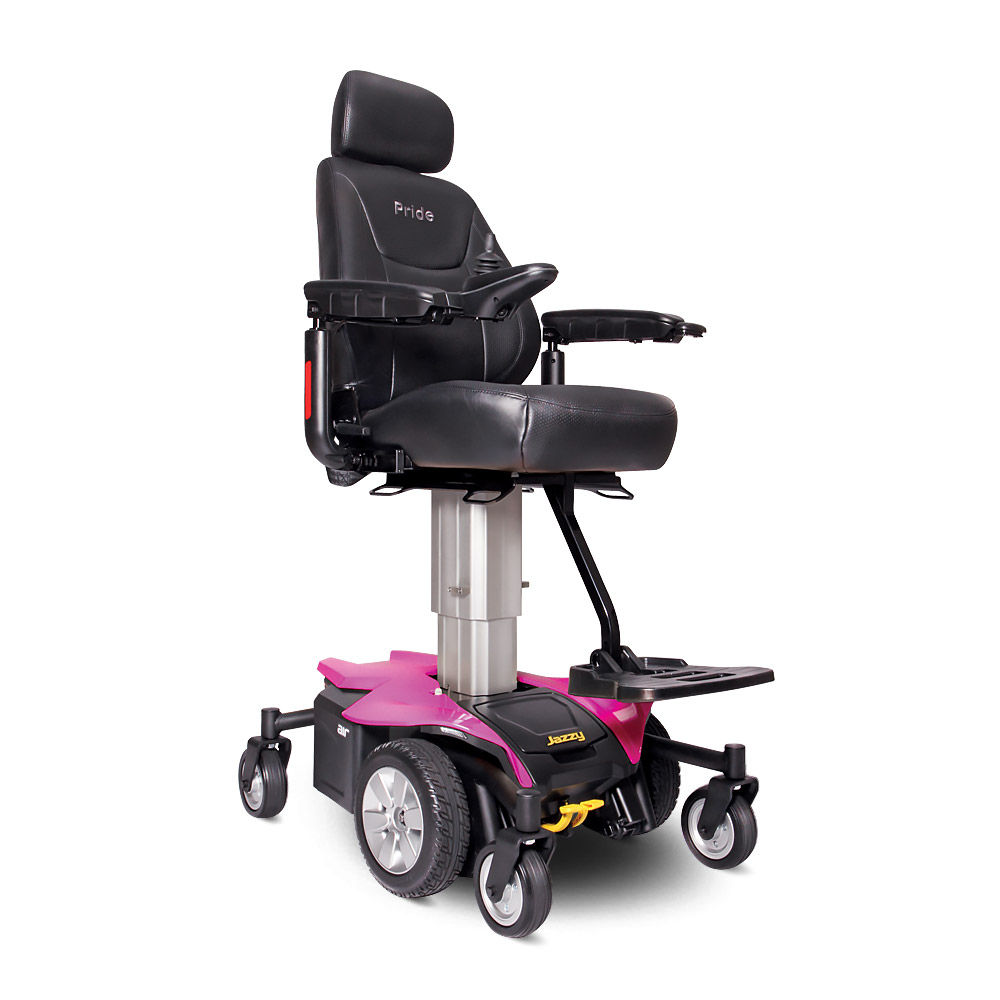 Pink electric wheelchair - Jazzy Air