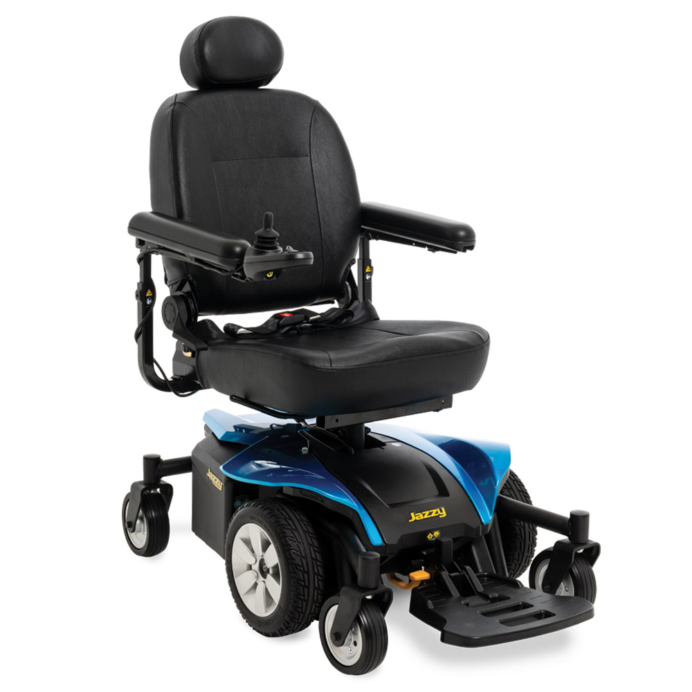Jazzy® Electric wheelchairs : Models | Pride Mobility®