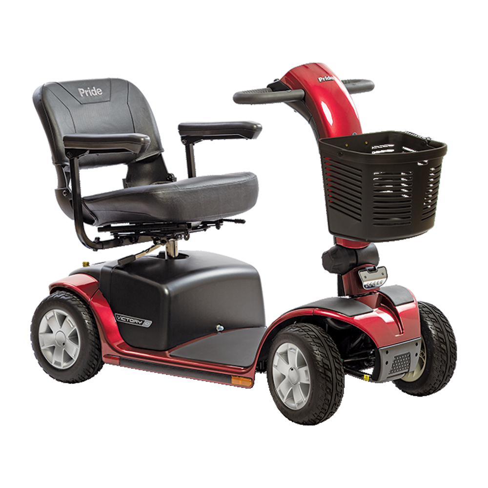 Pride Mobility - Victory 10 LX with CTS Suspension - Full ...