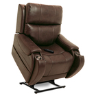 image of walnut vivalift atlas power lift recliner