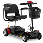 image of red go-go elite traveller 4-wheel