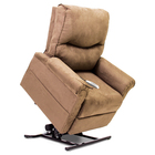 image of micro suede lc 105 pride power lift recliner