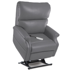 ultraleather charcoal lift chair recliner