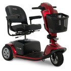 image of candy apple red victory 10.2 3 wheel scooter