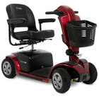 image of candy apple red victory 10.2 4 wheel scooter