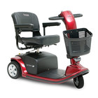 image of candy apple red victory 9 3 wheel scooter
