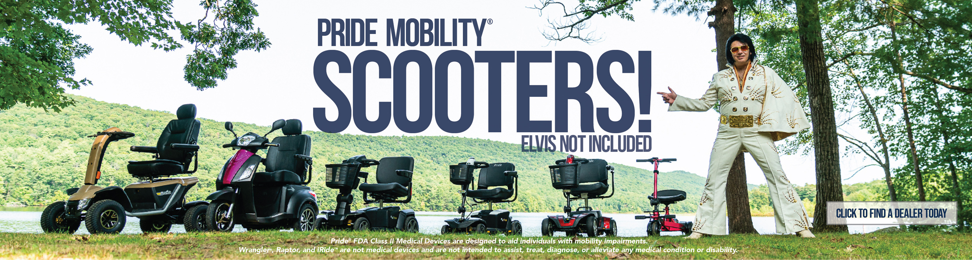 Elvis Mobility Scooter Lineup