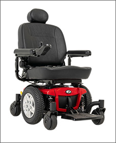 Maneuverable - Jazzy Power Chairs, Jazzy 600 ES