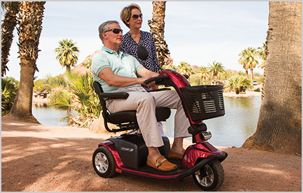 Versatility - Pride Mobility Scooters, Victory 10