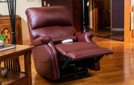 Luxurious Fabrics - Power Lift Recliners, Infinity Collection