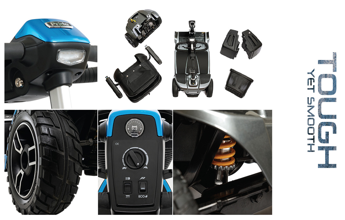 revo 2.0 4 wheel scooter features image