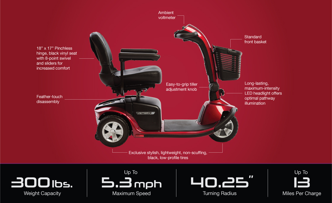 victory 9 3 wheel scooter specifications...</p>         </div>  <hr>                 <div class=
