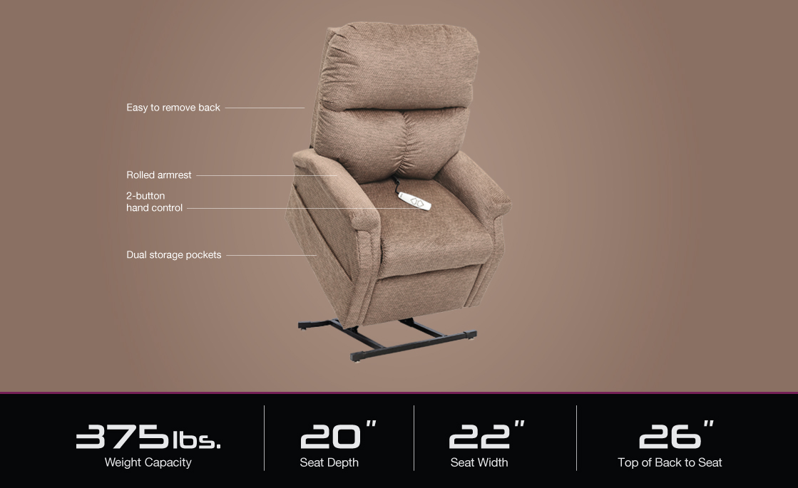 lc 250 pride power lift recliner specifications image