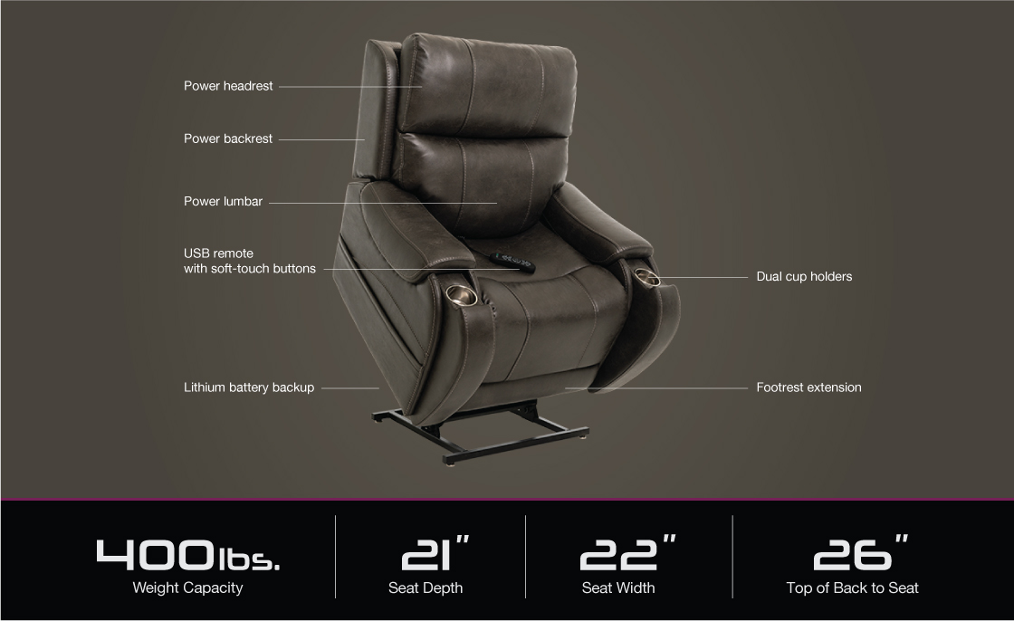 vivalift atlas plr 985 power lift recliner specifications image