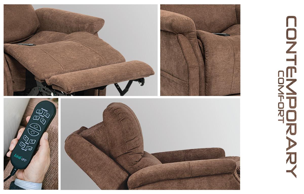 vivalift metro plr 925 power lift recliner features image